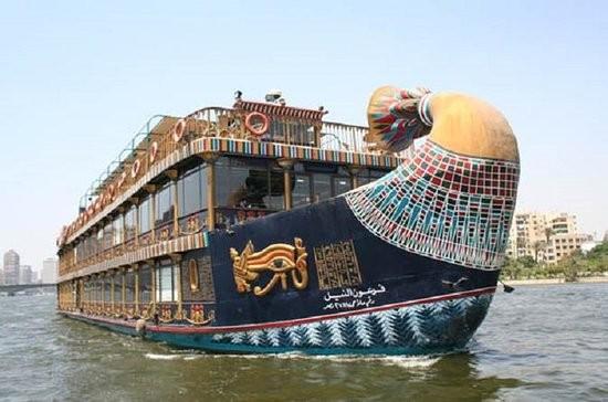 Dinner in Cairo on Nile Pharaoh Cruise