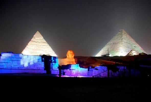 Giza Pyramids Sound & Light show